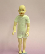 Heidi Ott Dolls House Doll, Young Boy with Blue Eyes (XKK05)