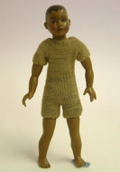 Heidi Ott Dolls House Doll, Brown Child (XKK10)