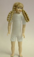 Heidi Ott Dolls House Doll, Teenager Girl with Long Platted Hair (XKK11)