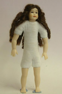 Heidi Ott Dolls House Doll, Teenager Girl with Long Hair (XKK14)