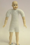 Heidi Ott Dolls House Doll, Teenager with Brown Eyes (XKK18)