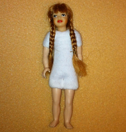 Heidi Ott Teenager Doll Girl with a wig and no clothes (XKK21)