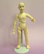 Heidi Ott Dolls House Doll, Nude Man with Brown Eyes (XKM02)