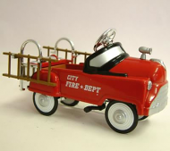 Dolls House Toy Pedal Fire Engine (XY111)
