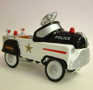 Dolls House Toy Pedal Police Car (XY112)