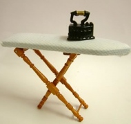 Dolls House Miniature Cherry Ironing Board (XY204C)