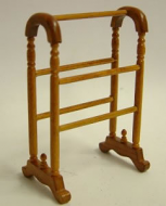 Dolls House Miniature Cherry Clothes/Towel Stand (XY205C)