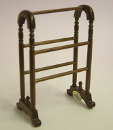 Dolls House Miniature Walnut Clothes Stand (XY205W)