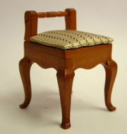 Dolls House Miniature Cherry Small Chair (XY207C)