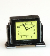 Heidi Ott Deco Style Clock, Dolls House Miniature (XY413)