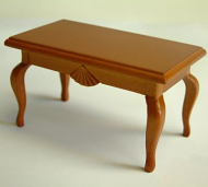 Dolls House Miniature Cherry Coffee Table (XY504C)