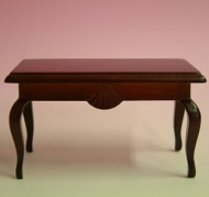 Dolls House Miniature Mahogany Coffee Table (XY504M)