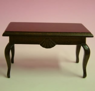 Dolls House Miniature Walnut Coffee Table (XY504W)