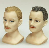 Dolls House Miniature Set of 2 Male Mannequins (XY643)