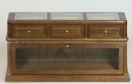 Dolls House Miniature Walnut Shop Counter (XY707W)