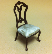 Dolls House Dining Room Victorian Side Chair (XY724)