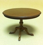 Dolls House Dining Room Round Table (XY726)