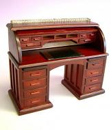 Dolls House Miniature ahogany Secretaire/Bureau (XY750M)