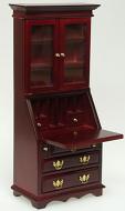 Dolls House Miniature Mahogany Desk Cabinet (XY753M)