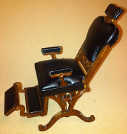 Heidi Ott Dentist Chair with a walnut finish (XY760)
