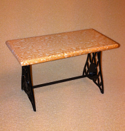 Dolls House Iron Bistro Table (Rose) (XY780R)