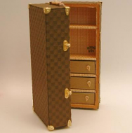 Dolls House Miniature Large Trunk (XZ005)