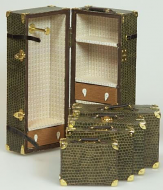 Dolls House Miniature Beige Luggage Collection (XZ017)