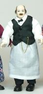 Heidi Ott Dolls House Doll, Shopkeeper (X075)