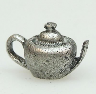 Dolls House Miniature Pewter Tea Pot (XZ210)