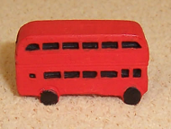 Dolls House Miniature Toy Bus (XZ221)