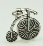 Dolls House Miniature Pewter Bicycle (XZ252)