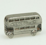 Dolls House Miniature Pewter Bus (XZ253)