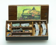 Dolls House Miniature Passenger Train Set (XZ262)