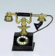 Dolls House Miniature Old Telephone (XZ281)