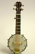 Dolls House Miniature Banjo (XZ306)