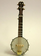 Dolls House Miniature Banjo (XZ307)