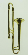 Dolls House Miniature Trombone (XZ325)