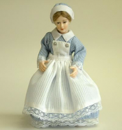 Heidi Ott Dolls House Doll, Young Nurse (X082)