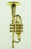 Dolls House Miniature Trumpet (XZ326)