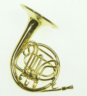 Dolls House Miniature French Horn (XZ330)