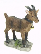 Dolls House Miniature Brown Goat (XZ503)