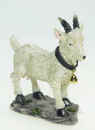 Dolls House Miniature White Goat (XZ504)