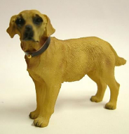 Dolls House Miniature Golden Labrador (XZ505)