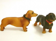 Dolls House Dachshund Dogs x2 (XZ514)