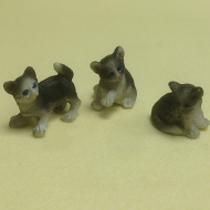 Dolls House Miniature Kittens x3 (XZ569)