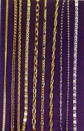 Assorted Dolls House Chains, Dolls House Miniature (XZ734)