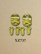 Dolls House Hinge and Screws, Dolls House Miniature (XZ737)
