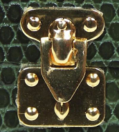 Dolls House Suitcase Locks, Dolls House Miniature (XZ741)