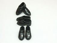 10 Pair of Men's Dolls Shoes, Dolls House Miniature (XZ760)