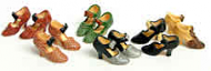 Six Pairs of Womens Doll Shoes by Heidi Ott (XZ771)